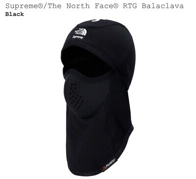 AUTHENTIC Supreme POLARTEC Balaclava Black FW18 BRAND NEW