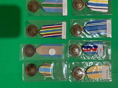 UN (United Nations) 8 x Medals Collection Various Countries all Original