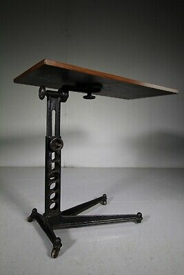 19th Century Adjustable Antique Table -London Maker