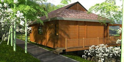 TitanPro - Ready House | A-21-a | Holiday House | Prefabricated | 122.5m2
