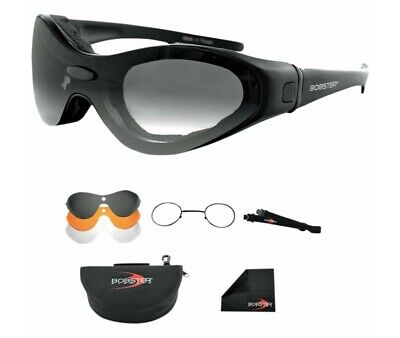 Lunettes Bobster Moto-Scooter-Spektrax Convertible-2601-0000