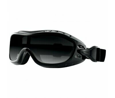 Lunettes Bobster Moto-Scooter-Night Hawk Otg-Fumee-2601-0734