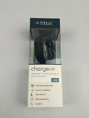 Fitbit Charge Wireless Heart Rate & Activity Tracker - Black Large