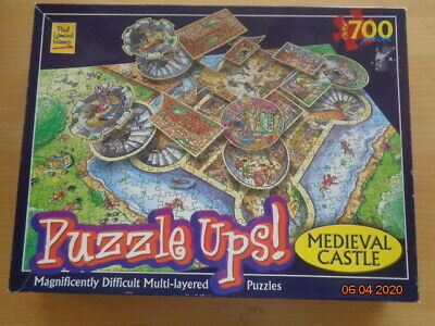 Puzzle Ups! - Medieval Castle-700  Magnificently Difficult Multi-layered Puzzles