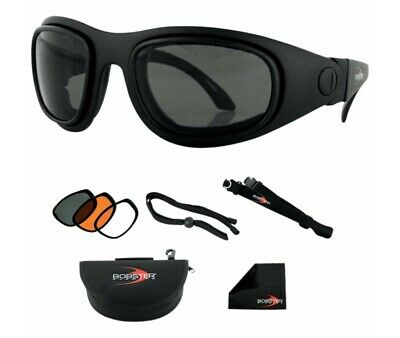 Lunettes Bobster Moto-Scooter-Sport And Street 2 Convertible-Bssa201Ac
