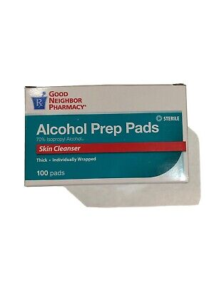 Good Neighbor Pharmacy Alcohol Prep Pads 100 Pads Skin Cleanser