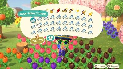 Animal Crossing New Horizons: 300 Nook Miles Tickets