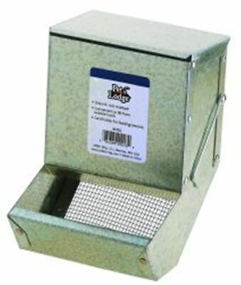 """Little Giant Feeder Sifter Hinged Plus Lid 5"""" Rabbits Small Animal Feeder"""