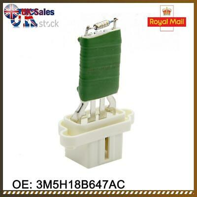 how to fit heater fan resistor ford feiasta