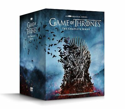 Game of Thrones: The Complete Series Season 1-8 (DVD,38-Disc Box Set) Sealed