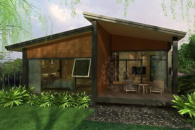 TitanPro - Ready House | B-11-b house | Holiday House | Prefabricated | 60.5m2