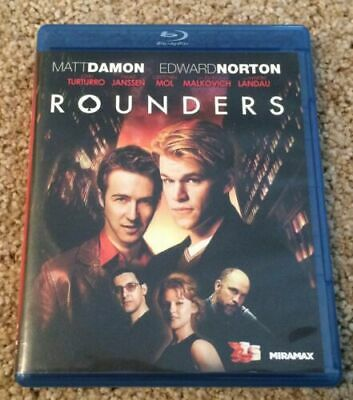 Rounders Blu-ray FREE SHIPPING