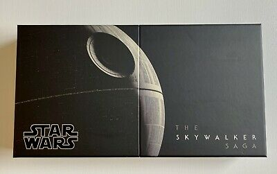 Star Wars Skywalker Saga BluRay Box Everything EXCLUDING 4K Discs, Digital Codes