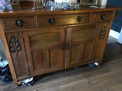 Arts and Crafts Antique Sideboard