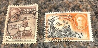 British Commonwealth Stamps. Gold Coast Stamps. 1938