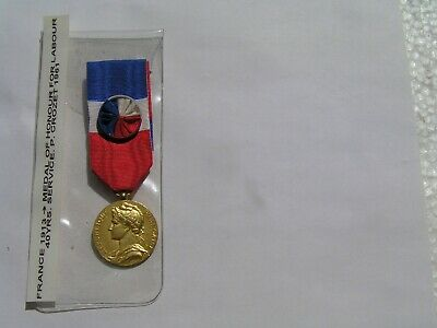 French Medal of Honour for Labour of the Ministry of Labour and Social Security,