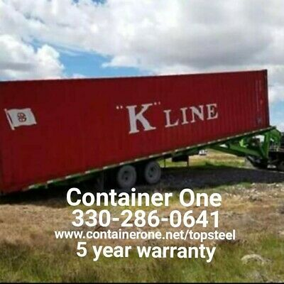 Steel Conex Storage Shipping Containers In Cleveland