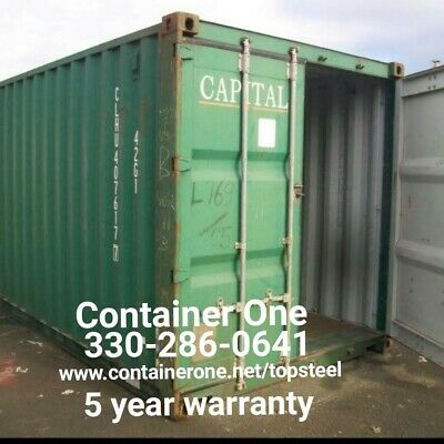 Steel Conex Storage Shipping Containers In Columbus