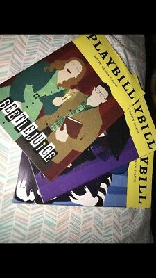 Beetlejuice January February March Rare Broadway Playbills Musical 2019 2020