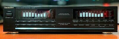 Vintage Technics Stereo Graphic Spectrum Equalizer/Made In Japan/Rare