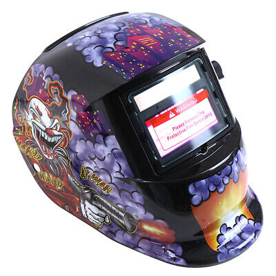 Solar Auto Darkening Electric Welding Helmet Arc Mig Tig Electric Welder MaKH