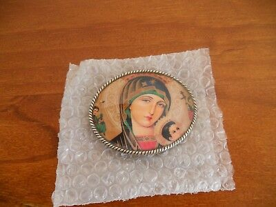 New The Madonna Belt Buckle