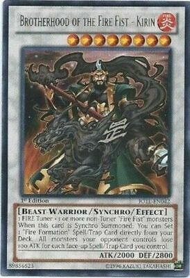 YUGIOH Brotherhood of the Fire Fist Deck Complete 40 - Cards + Extra