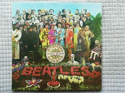 """The Beatles     """"Sgt. Peppers Lonely Hearts Club Band""""     Vinyl Lp Records"""