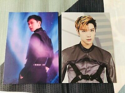 Wayv Nct Official Take Off Take Over The Moon Goods Postcard - Ten