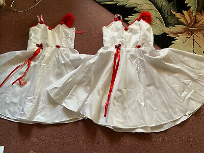 Set Of 2 dance dresses One Top Slightly Bigger Than Other