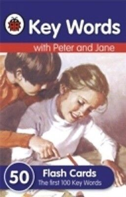 Key Words With Peter And Jane 50 Flash Cards Ladybird 9781409302766 100 Words