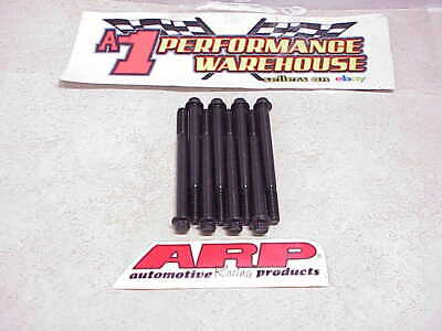 "8 New ARP 12 Point Bolts Black Oxide 3/8""-16 X 4.250"" Long  Coarse Thread NASCAR"