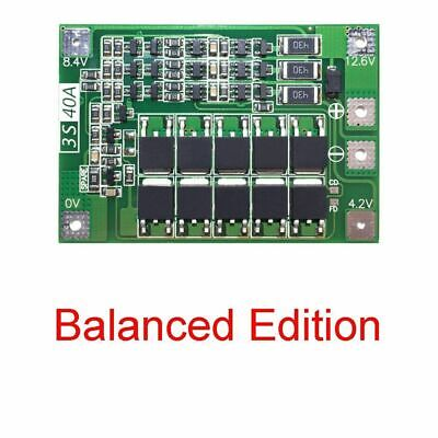 12.6V 18650 Lithium Battery PCB BMS Protection Board 3S Motor 40A For Drill C7B1