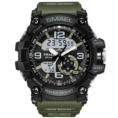 New men's high-end waterproof watch integrated multi-functional watch