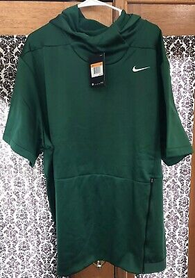 Nike Therma Fit Short Sleeve Hoodie Men/'s Size M-XXL New with Tags 908349 802