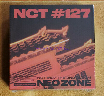 NCT 127 NCT #127 Neo Zone 2nd ALBUM K-POP KIHNO KIT + FOLDED POSTER SEALED
