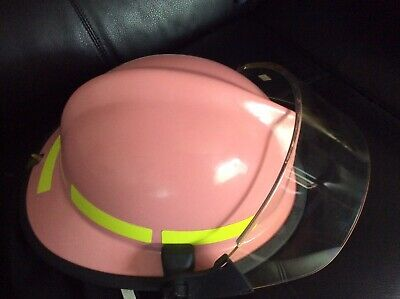 Paul Conway Lion Apparel Legacy 5 Breast Cancer Awareness PINK Fire Helmet
