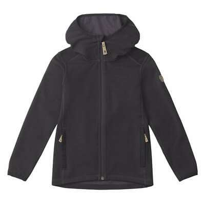 SALE! Fjallraven Kids Keb Fleece Hoodie Dark Grey / Black - 30% OFF