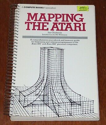 Book: Mapping The Atari for 400 800 8-bit vintage computer