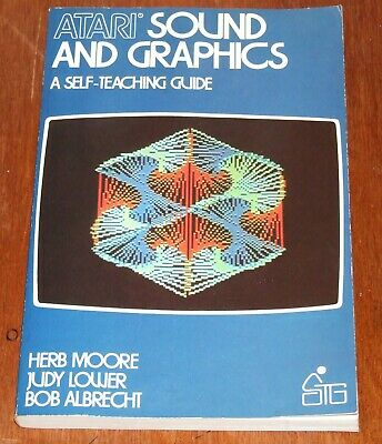 Book: Atari Sound and Graphics for 400 800 8-bit vintage computer