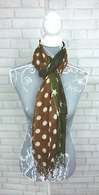 Glen Prince Stars and Spots Wool Scarf