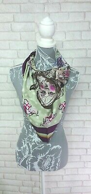 Emily Rose Silk Doll Square Scarf