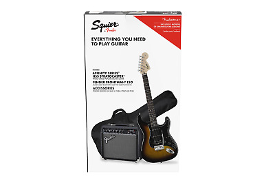 Fender Squier Affinity Series Stratocaster HSS Pack BSB GB SPEDITO GRATIS