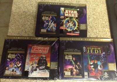 Star Wars Original Theatrical Trilogy Limited Edition(6-DVD)Authentic US Release