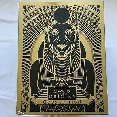 Assassin's Creed Origins Gods Edition Collector PS4 Playsation 4 COMPLETE SEALED
