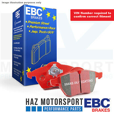 E87 170 BHP 2007-2010 EBC REDSTUFF FRONT PADS DP31493C FOR BMW 120 2.0