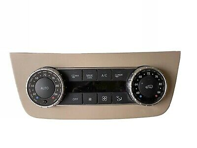 Mercedes-Benz ML Gl Class Front Automatic Climate AC Heater Control OEM