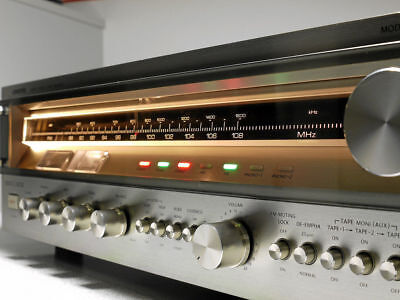 Onkyo TX-8500 Vintage Receiver  front panel LED lamps.