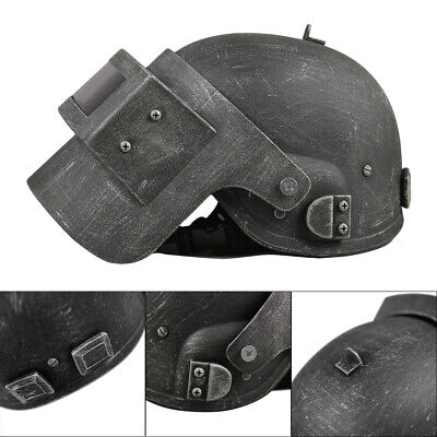 Game Playerunknown/'s Battlegrounds PUBG Cosplay Helmet Props Mask  Acrylic+ABS