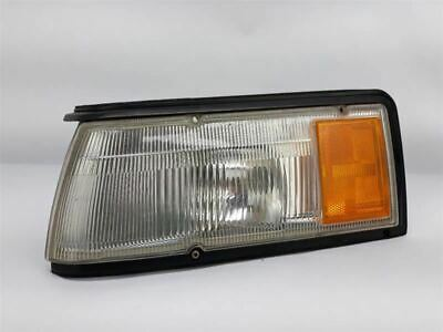 Driver and Passenger Park Signal Front Marker Lights Lamps Lenses Replacement for Nissan 26139-40U10 26134-40U10